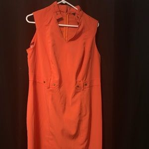 Dresses & Skirts - Orange woman's professional dress